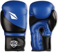 Боксерские перчатки RSC Pu Flex Bf BX 023 (р-р 8, синий/черный) -