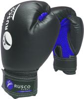 Боксерские перчатки RuscoSport 6oz (черный) -