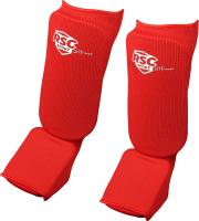 Защита голень-стопа RSC RSC002 (M, красный) -