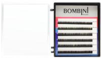 Ресницы для наращивания Bombini Микс D-0.10 5-7 (6 линий) -