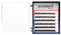 Ресницы для наращивания Bombini Микс D-0.12 5-7 (6 линий) -