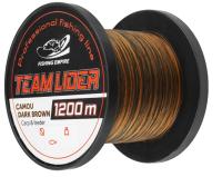 Леска монофильная Fishing Empire Lider Camou Dark Brown 0.37мм 1200м / CDB-0370 -