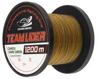 Леска монофильная Fishing Empire Lider Camou Dark Green 0.33мм 1200м / CDG-0331 -
