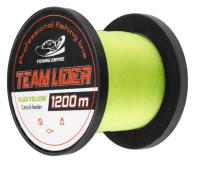 Леска монофильная Fishing Empire Lider Camou Fluo Yellow 0.37мм 1200м / CFY-0370 -