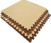 Коврик-пазл Eco Cover 60x60/60МП (бежевый/коричневый) -