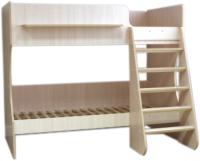 Двухъярусная кровать Можга Капризун 3 / Р438 (млечный) -