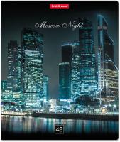 Тетрадь Erich Krause Moscow Night / 46663 (48л, клетка) -