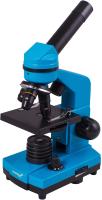 Микроскоп оптический Levenhuk Rainbow 2L / 69037 (Azure) -