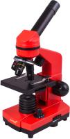 Микроскоп оптический Levenhuk Rainbow 2L / 69039 (Orange) -