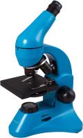 Микроскоп оптический Levenhuk Rainbow 50L Plus / 69053 (Azure) -