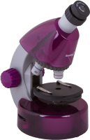 Микроскоп оптический Levenhuk LabZZ M101 / 69033 (Amethyst) -