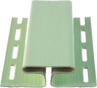 Фасадный профиль Docke Для сайдинга H Dacha (3м, светло-зеленый) -
