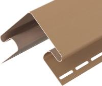 Угол для сайдинга Docke Premium Внешний (75мм, капучино) -