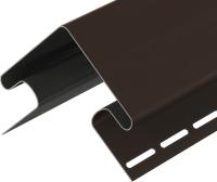 Угол для сайдинга Docke Premium Внешний (75мм, шоколад) -