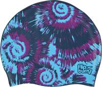 Шапочка для плавания Speedo Flipturns Reversible Cap / C828 (синий/голубой) -