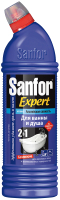 Чистящее средство для ванной комнаты Sanfor Expert блеск 7 дней. Альпийская свежесть (750мл) -