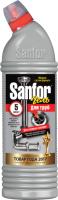Средство для устранения засоров Sanfor Для прочистки канализационных труб (750мл) -