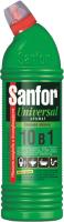 Универсальное чистящее средство Sanfor Universal Зеленое яблоко 10в1 (750мл) -