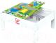 Развивающий игровой стол Hape Двусторонний стол с системой хранения / E3714-HP -