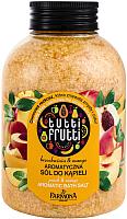 Соль для ванны Farmona Tutti Frutti Манго и Персик ароматическая с лепестками цветов (600г) -