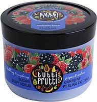 Скраб для тела Farmona Tutti Frutti Ежевика и Малина сахарный (300г) -