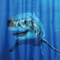 Шторка-занавеска для ванны Brimix Акула 02-03 -
