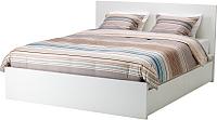 Двуспальная кровать Ikea Мальм 092.110.55 -