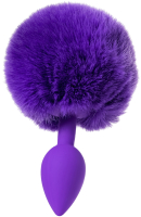 Пробка интимная ToyFa ToDo Sweet Bunny / 357014 (фиолетовый) -