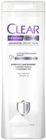 Шампунь для волос Clear Против перхоти 2 в 1 антибактериальный эффект (380мл) -