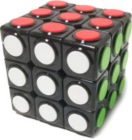 Игра-головоломка Huada Кубик-рубика. Черный с кружком / 1573902-341 -