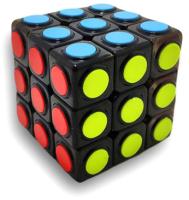 Игра-головоломка Huada Кубик-рубика. Черный с точкой / 1682373-068 -