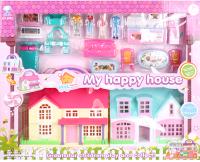 Кукольный домик Darvish Мой счастливый дом / DV-T-2212 -