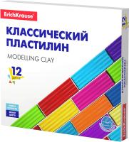 Пластилин Erich Krause Basic / 50558 (12цв) -