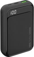 Портативное зарядное устройство Deppa NRG Turbo Compact LCD 10000 mAh / 33555 (черный) -