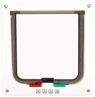 Откидная дверца для животных Duvo Plus 10923/DV (белый) -