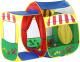 Детская игровая палатка Calida Домик с пристройкой 679 (+100 шаров) -