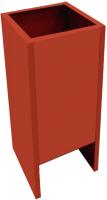 Подставка под огнетушитель Эдванс П-10 (красная) -