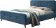 Полуторная кровать Signal Malmo 140x200 (деним) -