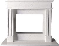 Портал для камина Glivi Арден 150x60x119 Biancone (белый) -