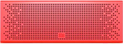 Портативная колонка Xiaomi Mi Bluetooth Speaker / QBH4105GL (красный)
