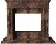 Портал для камина Glivi Арден 150x60x119 Emperador Dark (темно-коричневый) -