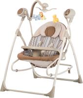 Качели для новорожденных Carrello Nanny CRL-0005 (Beige Strip) -