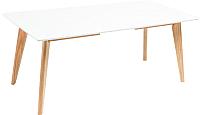 Обеденный стол Atreve Dante 120-40x80 (белый) -
