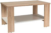 Журнальный столик Signal Lara (дуб сонома/белый) -