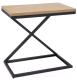 Приставной столик Signal Liz II (дуб/черный) -