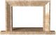 Портал для камина Glivi Дора 115.5x10x72.5 Emperador Light (светло-коричневый) -