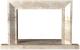 Портал для камина Glivi Дора 115.5x10x72.5 Breccia Sardo (темно-бежевый) -