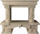 Портал для камина Glivi Висла 130x74x111.5 Crema Marfil (слоновая кость) -