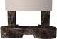 Портал для камина Glivi Дорис 127x127x88.5 Emperador Dark (темно-коричневый) -