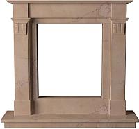 Портал для камина Glivi Инга 144x30x133.5 Rosa Perlino (розовый) -